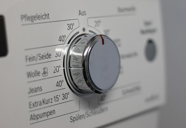 nastavení pračky