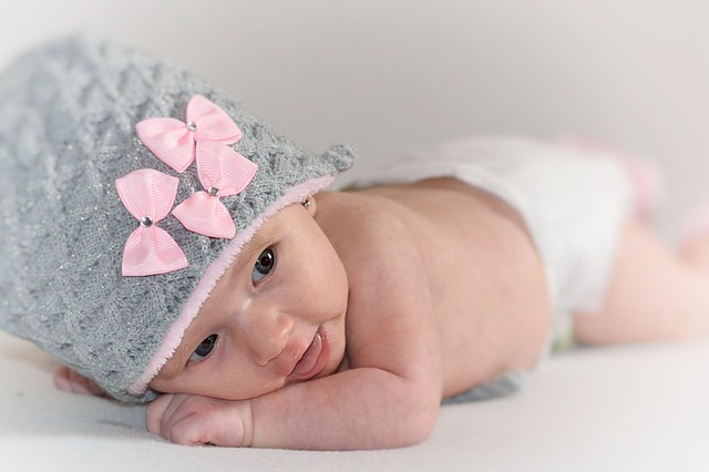 malinká holčička